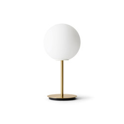 TR Bulb | Table Lamp | Brushed Brass | Matt Opal Bulb | Table lights | MENU