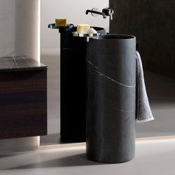 Giro Marble Freestanding Washbasinin | Lavabos | Inbani