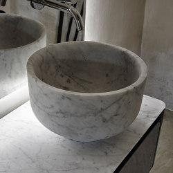 Origin Lavabo sobre encimera en Mármol H25 | Lavabos | Inbani
