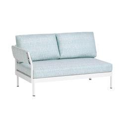Minu 2-Sitzer Element mit Rücken- und Armlehne links | Sofas | Weishäupl