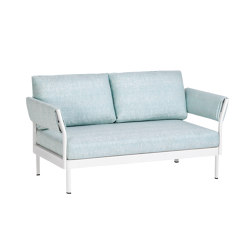 Minu 2-Seater Element with Back- and Armrests | Sofas | Weishäupl