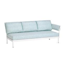 Minu 3-Sitzer Element mit 3-Sitzer Rücken- und Armlehne rechts | Sofas | Weishäupl