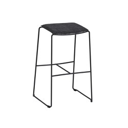 Racket Bar Stool with cushion | Bar stools | Weishäupl