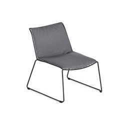 Racket Lounger with seat-back-cushion | Armchairs | Weishäupl