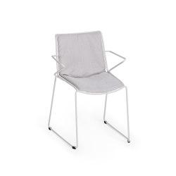 Racket Sessel mit Sitz-Rücken Polster | Stühle | Weishäupl