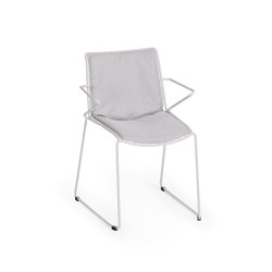 Racket Armchair with seat-back-cushion | Sillas | Weishäupl