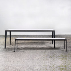 Table and bench at_14 | Dining tables | Silvio Rohrmoser