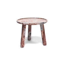 Stone Round Coffee Table | Tables d'appoint | Exteta