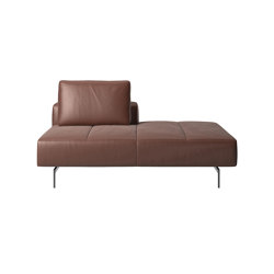 Amsterdam Sofa 5500 | Lounging module for Sofa, back rest left, open end right | Divani | BoConcept