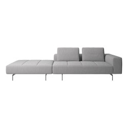 Amsterdam Sofa AQ00 with footstool on left side | Sofás | BoConcept