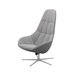Boston Lounge Chair L044 with swivel and tilt function | Poltrone | BoConcept