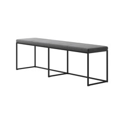 London Bench B011 large with cushion | Panche | BoConcept