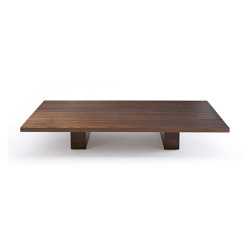 10th Joint Rectangular Coffee Table | Tables basses | Exteta