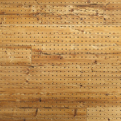 ACOUSTIC Dot Reclaimed Wood hacked H2 | Wood panels | Admonter Holzindustrie AG