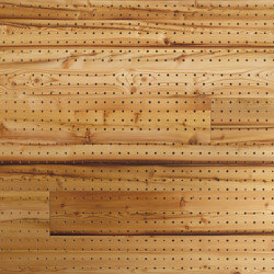 ACOUSTIC Dot Reclaimed Wood Larch brushed | Wood panels | Admonter Holzindustrie AG