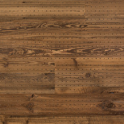ACOUSTIC Dot Reclaimed Wood sunbaked brushed | Wood panels | Admonter Holzindustrie AG