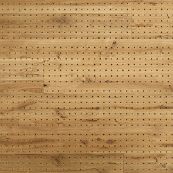 ACOUSTIC Dot Oak brushed | Wood panels | Admonter Holzindustrie AG