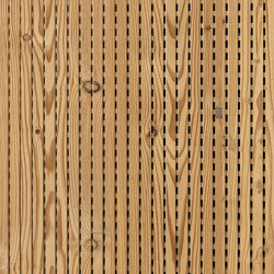 ACOUSTIC Linear Larch aged | Wood panels | Admonter Holzindustrie AG