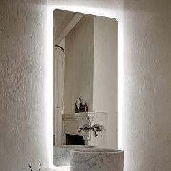Origin Beveled Mirrors with LED Lighting | Bath mirrors | Inbani