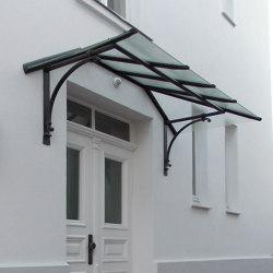 Canopy Roof | BM | Canopies | Bergmeister Kunstschmiede