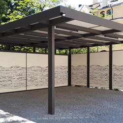 Carport | CP37 | Open parking areas | Bergmeister Kunstschmiede