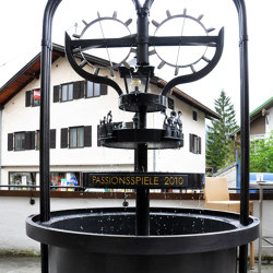 Fountain | OAG | Waterspout fountains | Bergmeister Kunstschmiede