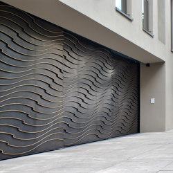 Gates | Wave | Garage doors | Bergmeister Kunstschmiede