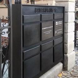 Mailbox | B17 | Mailboxes | Bergmeister Kunstschmiede