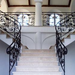 Stair Railing | France | Ringhiere / Parapetti | Bergmeister Kunstschmiede