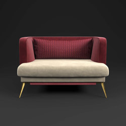 Victoria Armchair | Armchairs | Rossato