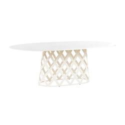 Dalmatia mesa comedor ovalada | Mesas comedor | Point