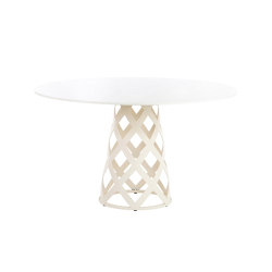 Dalmatia round dining table | Dining tables | Point