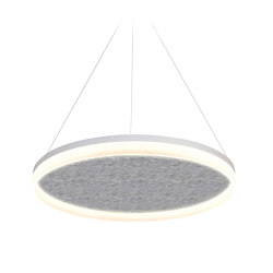 Acoustic Circulo 80 Light Grey | Suspended lights | Valaisin Grönlund