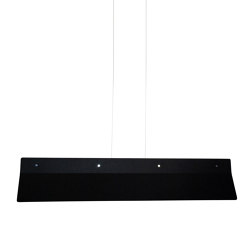 Acoustic Line 140 Black | Suspended lights | Valaisin Grönlund