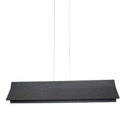 Acoustic Line 140 Dark Grey | Suspended lights | Valaisin Grönlund
