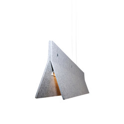 Acoustic Line 140 Light Grey | Suspended lights | Valaisin Grönlund