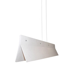 Acoustic Line 140 Off-white | Suspended lights | Valaisin Grönlund