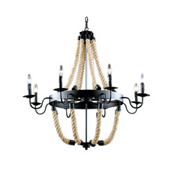 Antique 8-vp Pendant Light | Chandeliers | Valaisin Grönlund