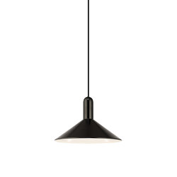 Edmonton Matt Black Pendant Light | Suspended lights | Valaisin Grönlund
