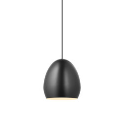 Egg Pendant Light Black | Suspended lights | Valaisin Grönlund