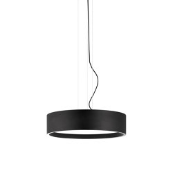 Flyer 50 Led Matt Black Pendant Light | Suspended lights | Valaisin Grönlund