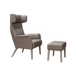 Wing Chair High | Sillones | Dietiker