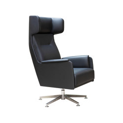 Wing Chair High | Armchairs | Dietiker