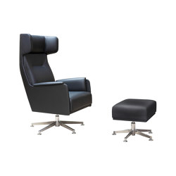 Wing Chair High | Poltrone | Dietiker