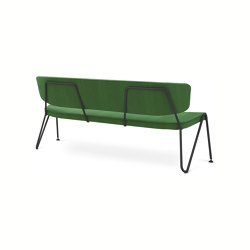F1 Sofa green white | Panche | Neil David