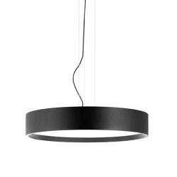 Flyer 70 Led Matt Black Pendant Light | Suspended lights | Valaisin Grönlund