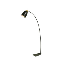 Houston Floor Lamp Black | Free-standing lights | Valaisin Grönlund
