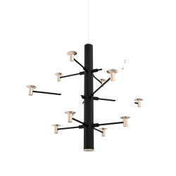 Jubileum 12-vp Pendant Light Black | Suspended lights | Valaisin Grönlund