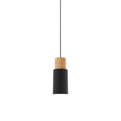 Log 10 Pendant Light Black | Suspended lights | Valaisin Grönlund