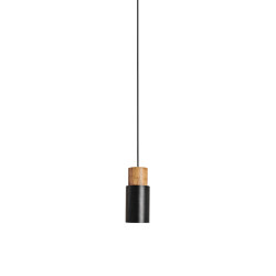 Log Pendant Light Black | Suspended lights | Valaisin Grönlund